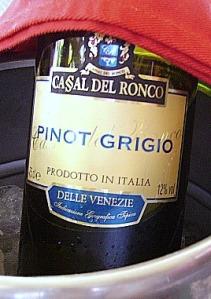 Pinot Grigio, da Casa del Ronco