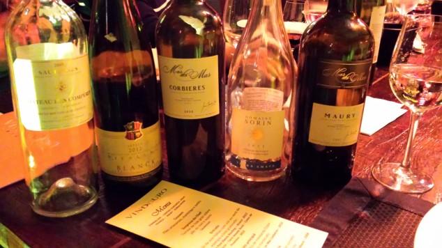 Os vinhos da noite